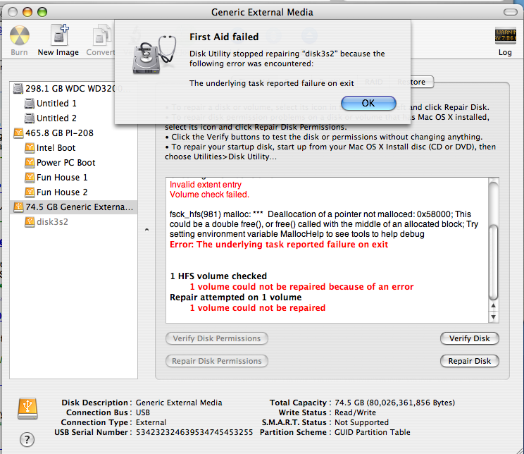 Disk Utility...How could you fail me??