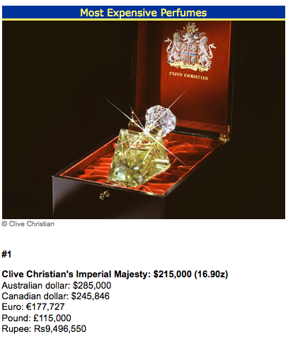 The Imperial Majesty Perfume